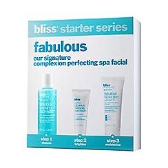 Bliss - Fabulous Treatment Kit Gift Set