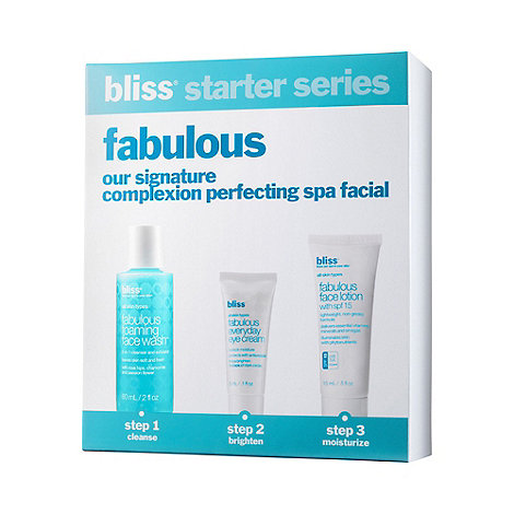 Bliss - +Fabulous+ treatment gift set