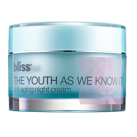 Bliss - +The Youth As We Know It+ anti ageing night cream 50ml