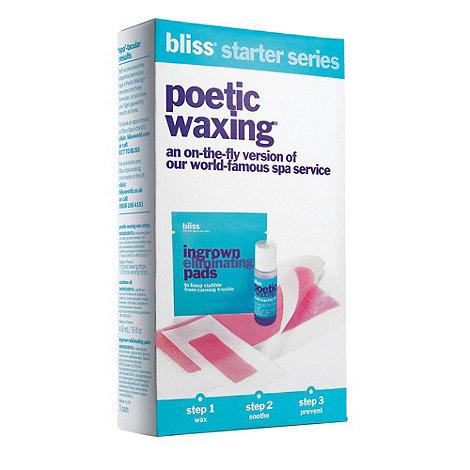 Bliss - Poetic wax starter kit