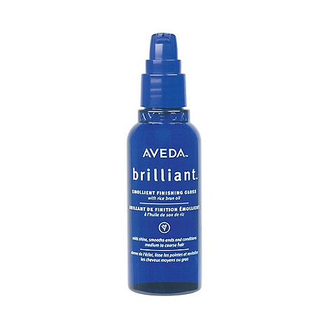 Aveda - +Brilliant+ emollient finishing gloss hair oil 75ml