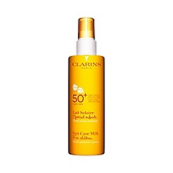 Clarins - NEW Sun Care Milk For Children 100% Mineral Screen UVB/UVA 50+