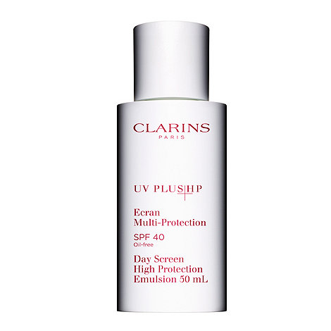 Clarins - +UV PLUS HP+ SPF 40 day screen high protection emulsion 50ml