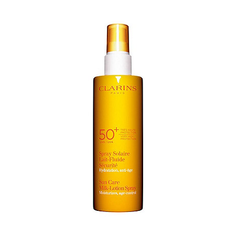 Clarins - +Sun Care+ very high protection UVB and UVA 50+ milk lotion spray 150ml