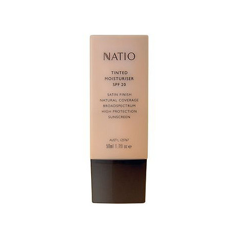 Natio - Tinted Moisturiser SPF 20 in natural