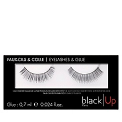 black Up - 'No.1' false eyelashes