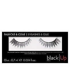 black Up - 'No.2' false eyelashes