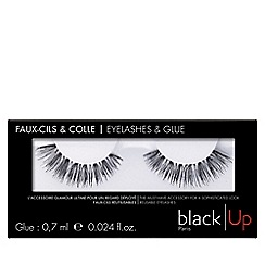 black Up - 'No.3' false eyelashes