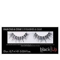 black Up - 'No.4' false eyelashes
