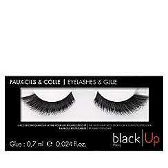 black Up - 'No.5' false eyelashes