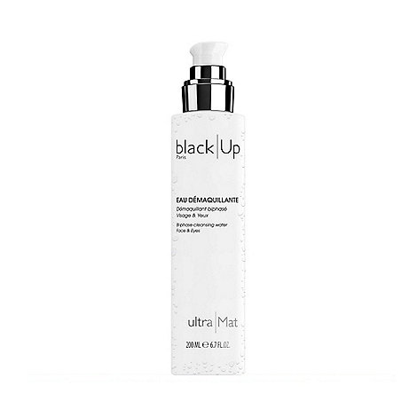 black Up - +Ultra Mat+ bi-phase face and eyes cleansing water 200ml