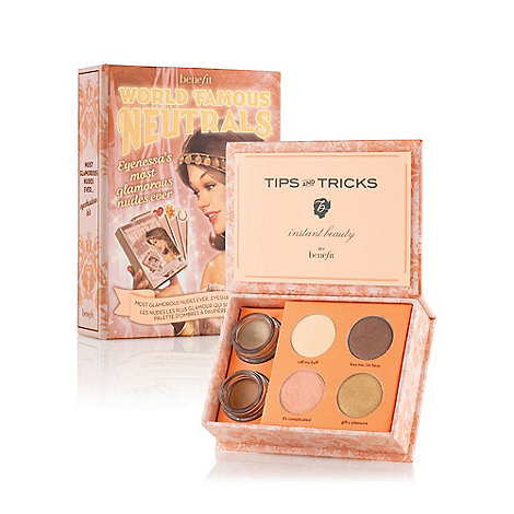 Benefit - World Famous Neutrals - Most Glamorous Nudes Ever eyeshadow kit