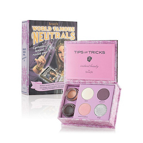 Benefit - World Famous Neutrals - Sexiest Nudes Ever eyeshadow kit