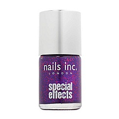 Nails Inc. - Special effects - Bloomsbury Square purple 3D glitter Nail Polish 10ml