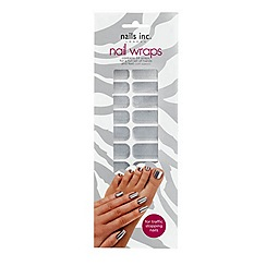 Nails Inc. - Solid chrome nail wraps
