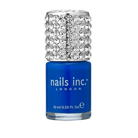 Nails Inc. - Baker Street Crystal Cap polish