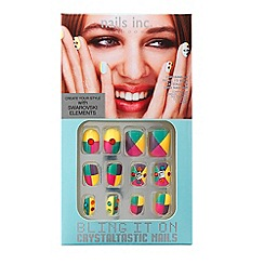 Nails Inc. - Bling It On Crystaltastic Summer Pastels Collection