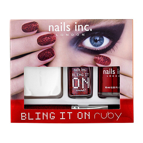 Nails Inc. - Bling It On Ruby collection
