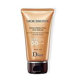 DIOR - 'Bronze Protective Creme Sublime Glow' SPF50 50ml