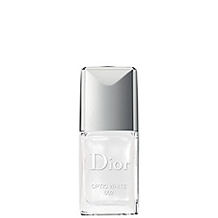 DIOR - 'Vernis Couture' optic white no. 002 nail polish 10ml