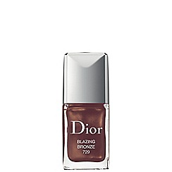 DIOR - 'Dior Vernis Couture Colour Gel Shine 729 Blazing Bronze' long wear nail lacquer