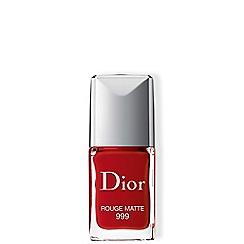 DIOR - 'Dior Vernis - 999 Matte' longwear nail polish