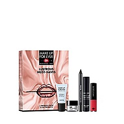 MAKE UP FOR EVER - 'Lustrous Must Haves' make up gift set