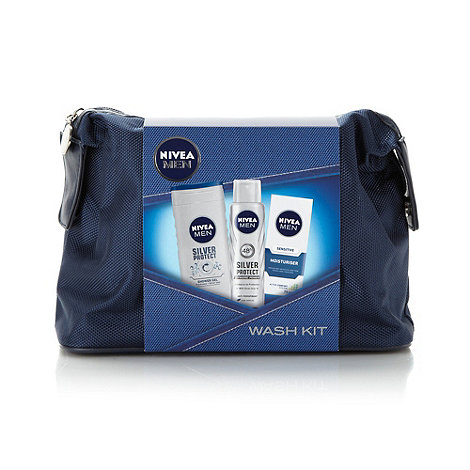 Nivea - Silver Protect+ wash kit