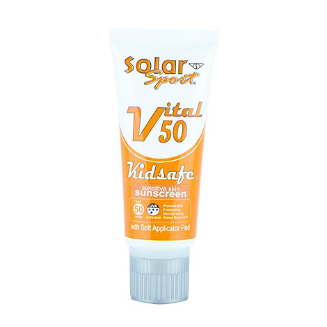 Solar Sport - Orange water resistant SPF30 sunscreen