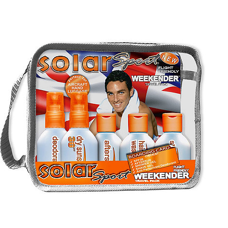 Solar Sport - Weekender travel pack