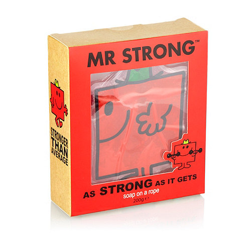 Mr Men - +Mr.Strong+ soap on a rope