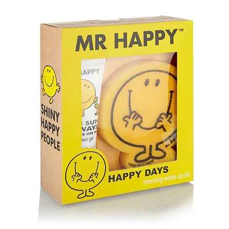 Mr Men - +Mr Happy+ morning wake up kit