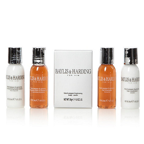 Baylis & Harding - Men+s black pepper and ginseng gift set