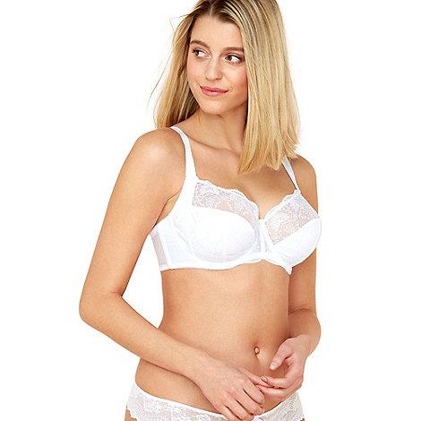 Fantasie - White +Elodie+ side support balcony bra