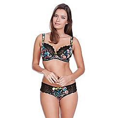 Freya - Multicolour 'Popart' underwired non-padded balcony bra