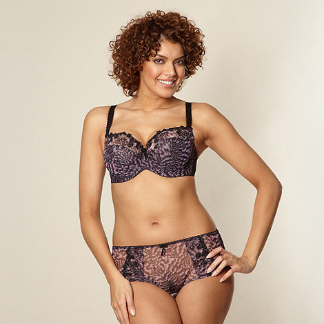Gorgeous DD+ - Dark purple DD-J full cup bra
