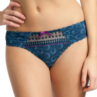 Navy Lets twist again thong