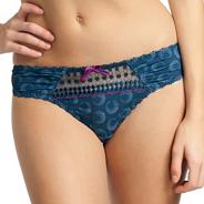 Navy 'Let's twist again' thong