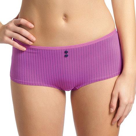 Freya - Dark pink +Deco Hatty+ shorts