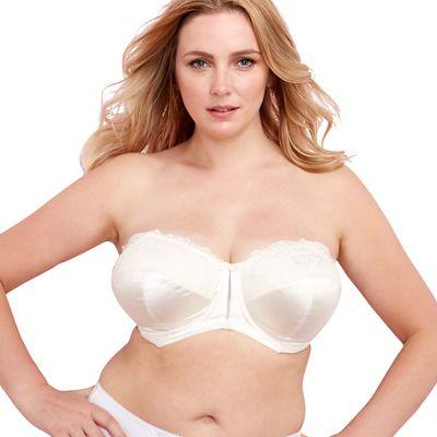 Ivory Maria strapless bra