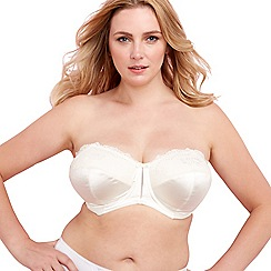 Elomi - Online exclusive ivory 'maria' strapless bra
