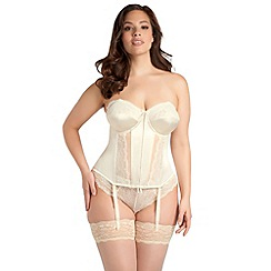 - Online exclusive ivory 'maria' basque