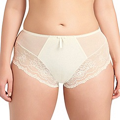 Elomi - Ivory 'Maria' full brief knickers