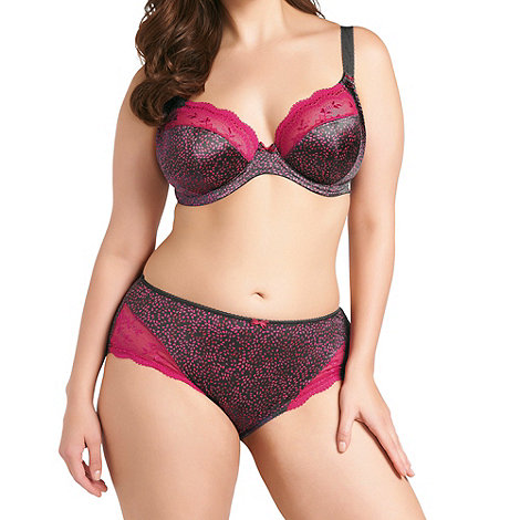 Elomi - Online exclusive pink +jocelyn+ plunge bra