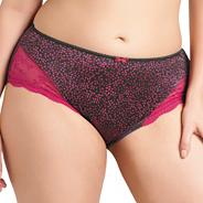 Online exclusive pink 'jocelyn' brief
