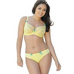 Curvy Kate - Pale yellow 'Dreamcatcher' plunge bra