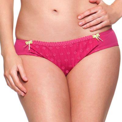 Curvy Kate Dark pink ´Dreamcatcher´ briefs - . -