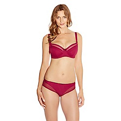 Fantasie - Red underwired 'Lois' side support bra