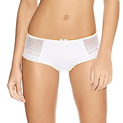 Freya - Online exclusive white 'enchanted' short