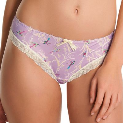 Purple Just Flew In Brazilian briefs